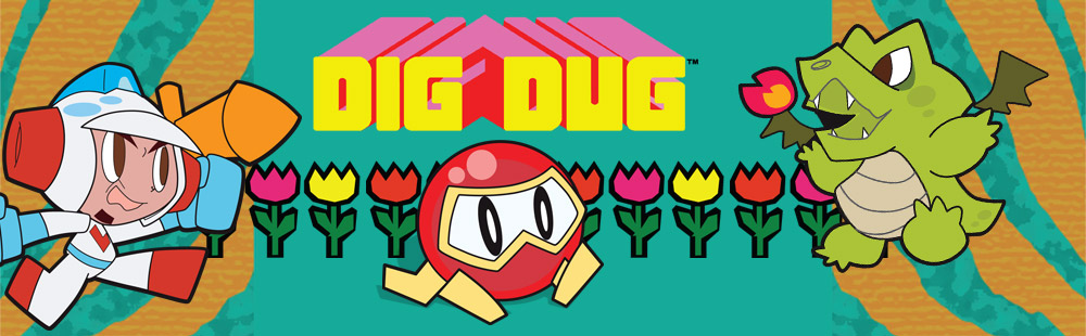Namco All-Stars: DIG DUG