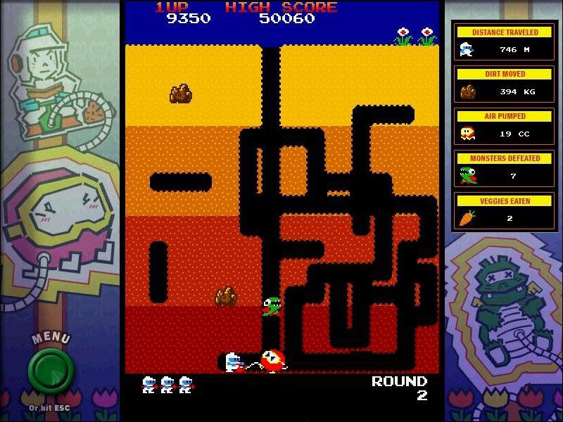 Namco All-Stars: DIG DUG screen shot