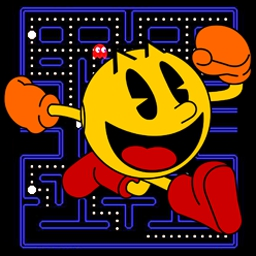 Namco All-Stars: PAC-MAN - PAC-MAN, the world's most famous arcade classic, returns for the PC! - logo