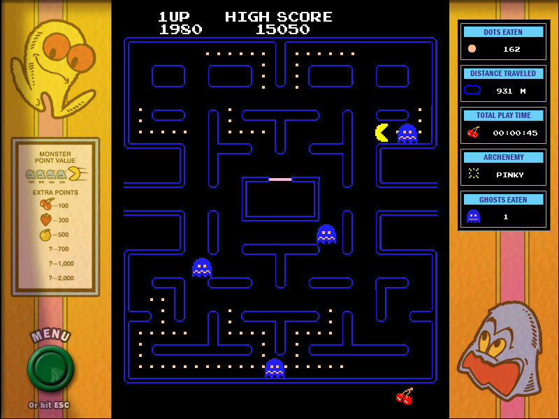 Namco All-Stars: PAC-MAN screen shot
