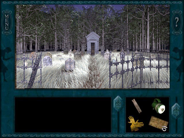 Nancy Drew: Ghost Dogs Of Moon Lake screen shot
