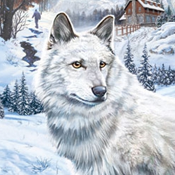 Nancy Drew: The White Wolf of Icicle Creek - Solve puzzles, question suspects, and search for clues to crack the case. - logo