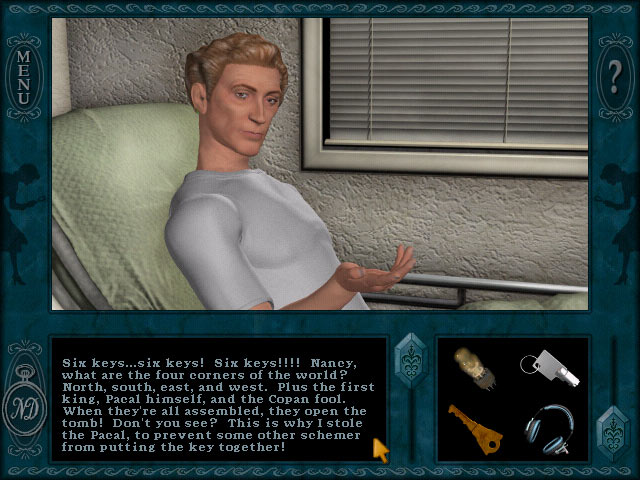 Nancy Drew: Secret of the Scarlet Hand screen shot