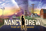 Investigate and solve puzzles to get to the bottom of a new mystery in Nancy Drew: Trail of the Twister!