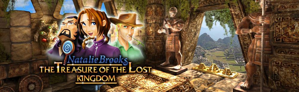 Natalie Brooks - The Treasures of the Lost Kingdom