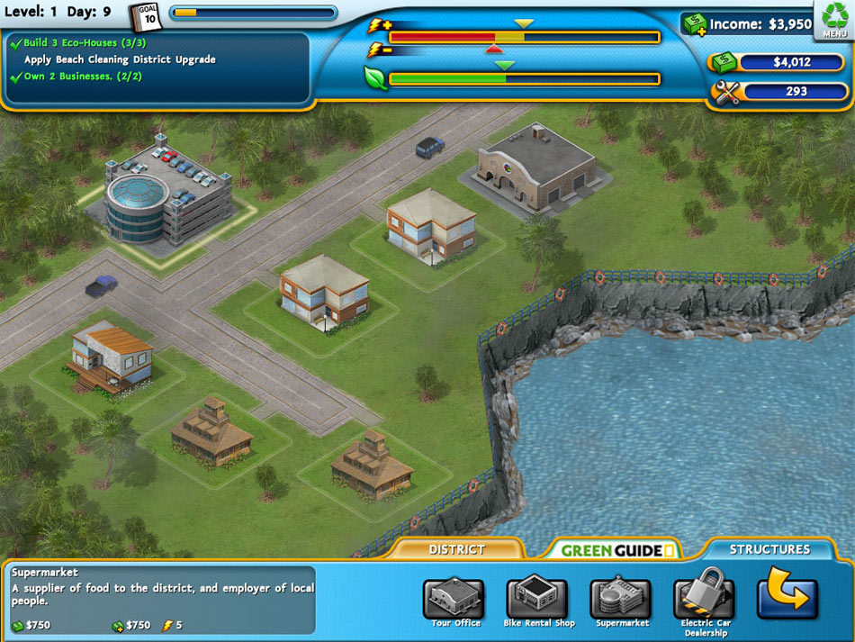 Nat Geo Games: Build It Green - Back to the Beach screen shot