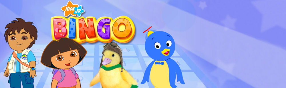 Nick Jr Bingo