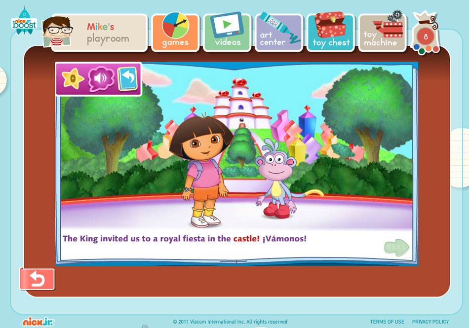 Nick Jr. Boost screen shot