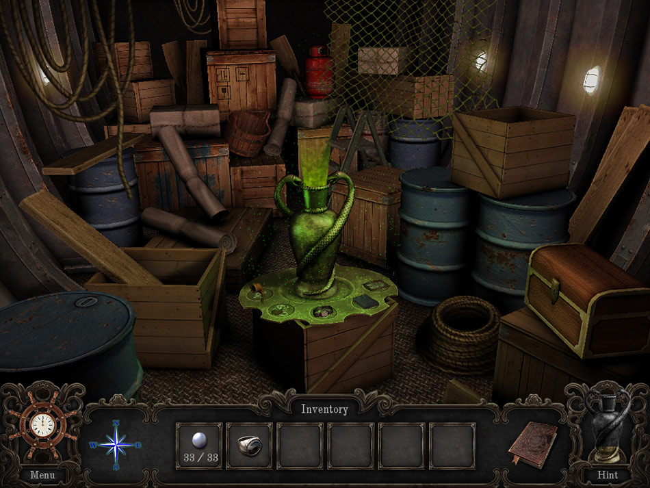 Night Mysteries: The Amphora Prisoner screen shot