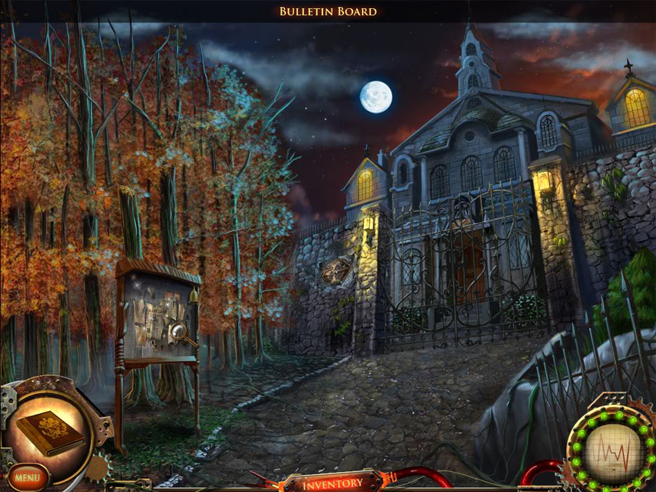 Nightfall Mysteries: Asylum Conspiracy screen shot