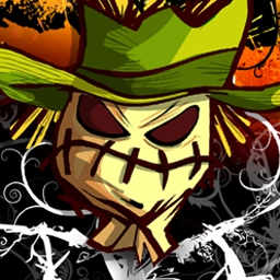 Night of the Scarecrows - Fend off a straw army in Night of the Scarecrows, a fun match 3 game! - logo