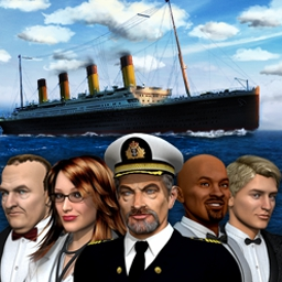 1912 Titanic Mystery - in 1912 Titanic Mystery, you are the sole person capable of locating a bomb hidden aboard the Titanic II! - logo