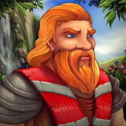 Northern Tale 3 - A new evil is on the rise and it's up to you and King Ragnar to defeat it in the time management game Northern Tale 3. - logo