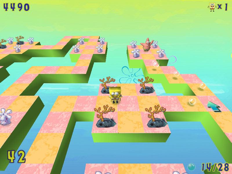Download games gt kids gt spongebob squarepants 3d obstacle odyssey