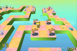 Screenshot of SpongeBob SquarePants 3D Obstacle Odyssey
