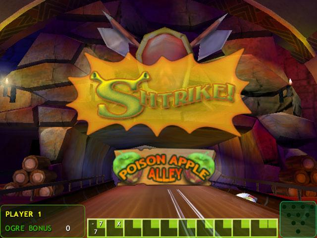 Shrek 2: Ogre Bowler screen shot