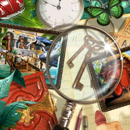 100% Hidden Objects - No need to worry about story, just search your heart out!  There's nothing to distract you from the gameplay in 100% Hidden Objects! - logo
