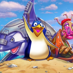 1 Penguin 100 Cases - Follow the adventures of Pengoo through 90 levels full of puzzles. 1 Penguin 100 Cases features hidden object gameplay and cute characters! - logo