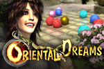 Clear the board of runes by making matches of three in Oriental Dreams.