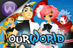 In ourWorld, create your own style with more than 32,000 virtual items, meet  new friends, play awesome games and more!