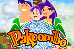 Pakoombo is a match 3 game featuring regular play and computer duels!