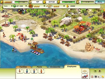 Paradise Beach screen shot