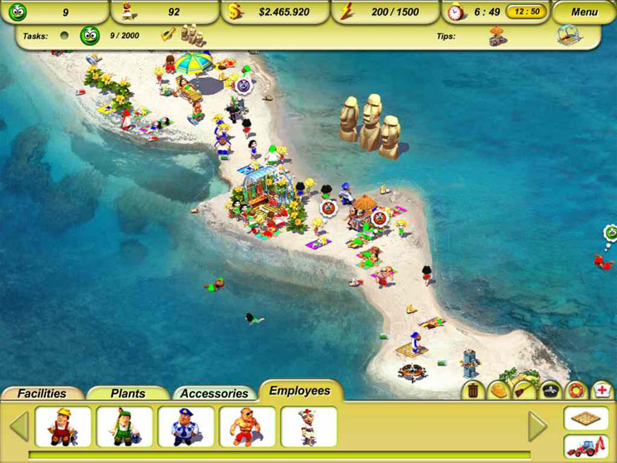 Paradise Beach 2 screen shot