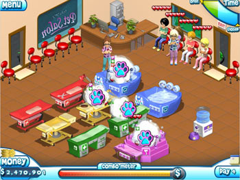 Paradise Pet Salon screen shot