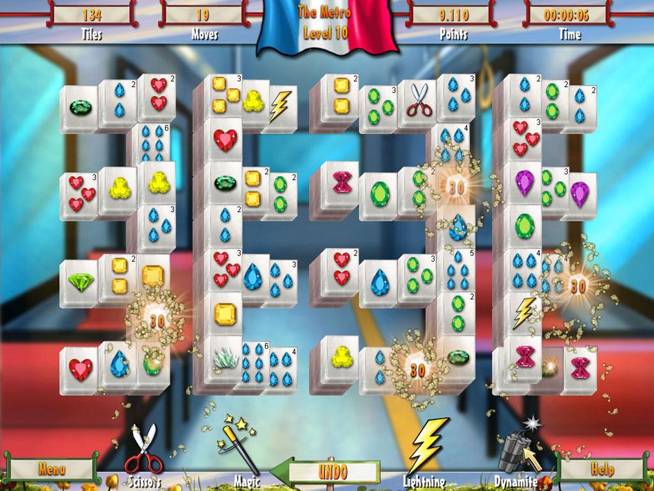 Paris Mahjong screen shot