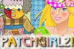 Try a new type of jigsaw puzzle with Patchgirlz!, a free online game for stylish teens!