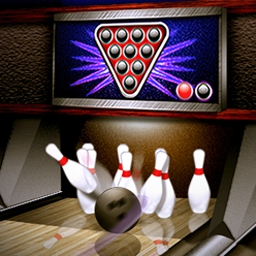 PBA® Bowling 2 - Bowl against PBA® stars in this 3D game that includes tournaments, a spare challenge, online high scores, and much more! - logo