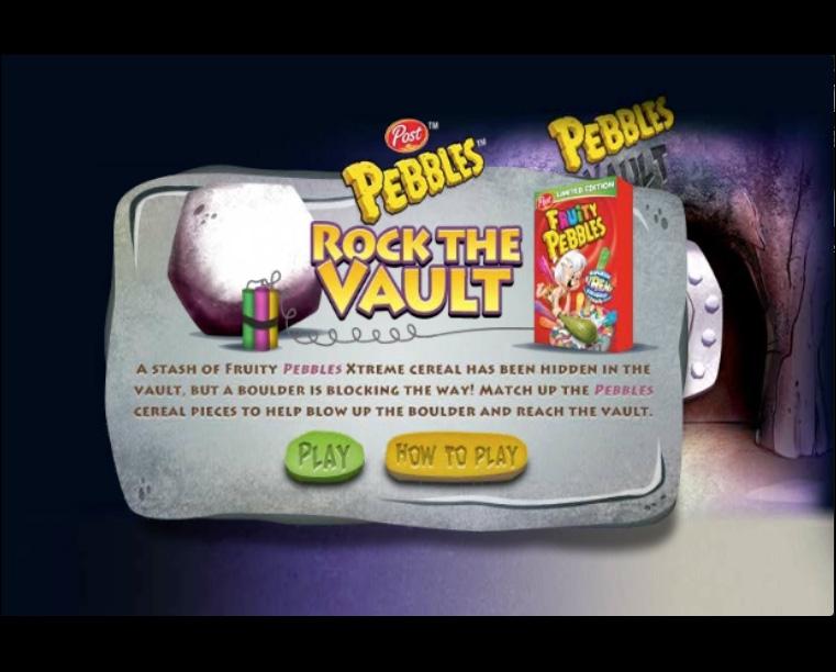 Pebbles Rock the Vault screen shot