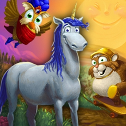 Peggle - Take your best shot with 10 mystical powers & clear all the pegs in Peggle! - logo
