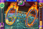 Screenshot of Peggle Nights