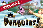 Help a group of penguins overrun the zoo in the family game of Penguins!