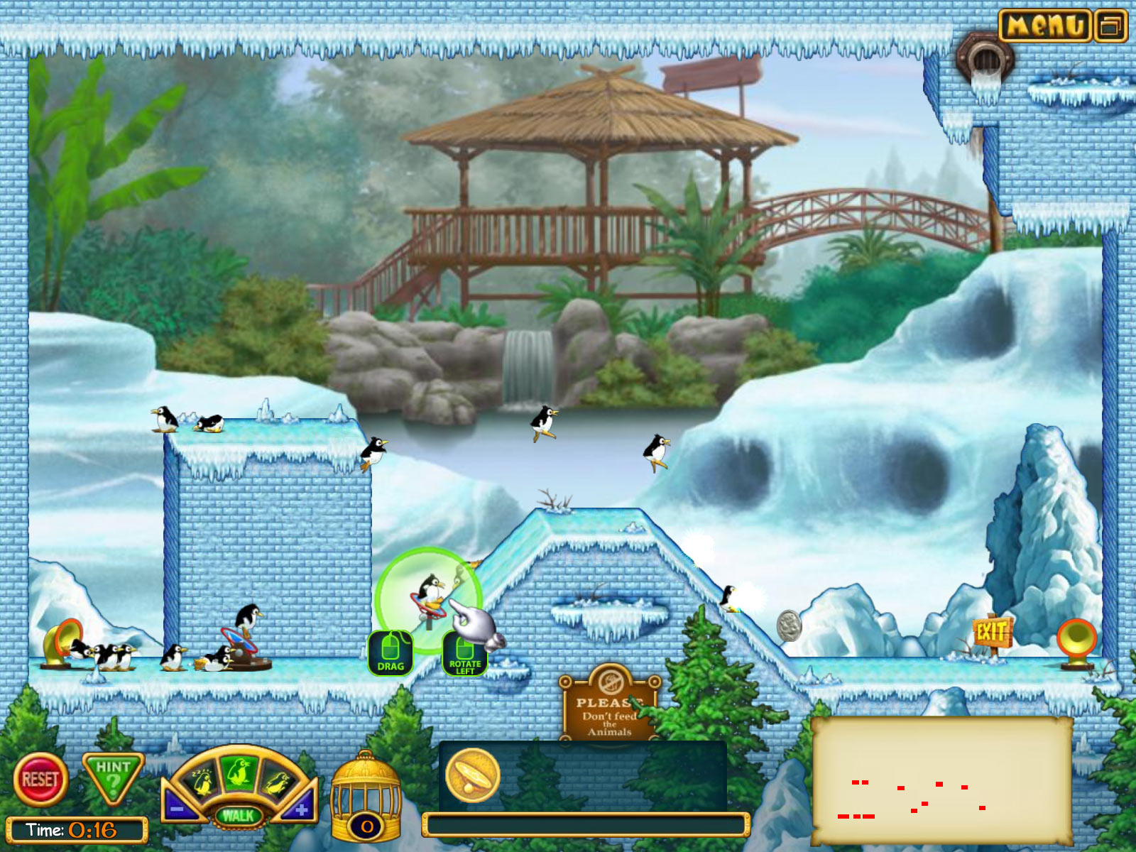 Penguins! screen shot