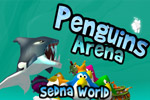 Battle other penguin tribes in quick, hectic rounds in Penguins Arena!
