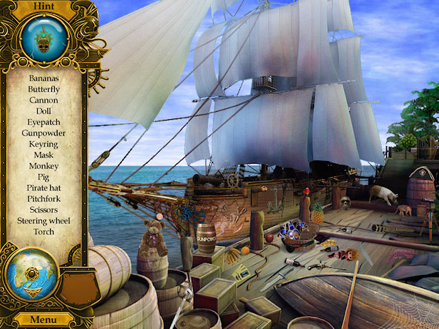 Pirate Mysteries screen shot