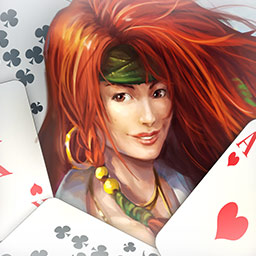 Pirate Solitaire - Play solitaire on the deck of a pirate ship to win pirate gold in Pirate Solitaire! - logo