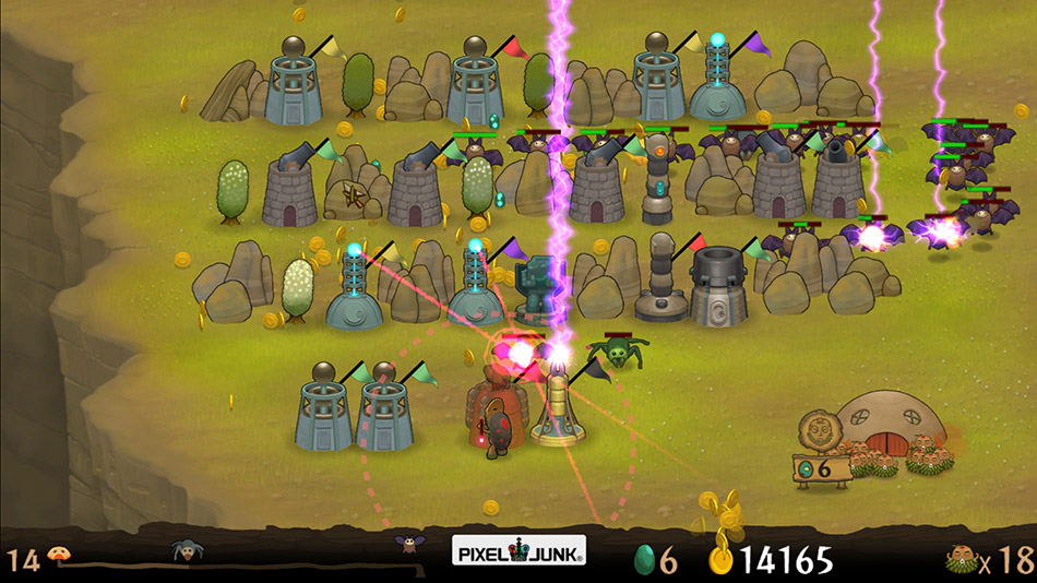 PixelJunk™ Monsters HD screen shot