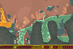 Screenshot of PixelJunk Shooter