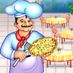 Pizza Chef - Bake and serve mouth-watering pizza to picky customers in Pizza Chef! - logo