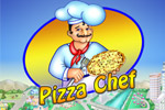 Bake and serve mouth-watering pizza to picky customers in Pizza Chef!