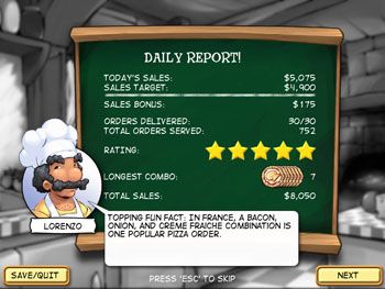 Pizza Frenzy screen shot