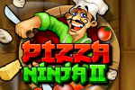 Entertain your customers by chopping the ingredients flying through the air, hanging off balloons or hiding in cupboards!  Become a Pizza Ninja!