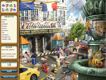 PJ Pride Pet Detective - Destination Europe screen shot