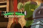 In Planet Hulk Gladiators, the Red King has captured the Hulk and is forcing him to fight.  Can he defeat his alien opponents? Play now for free!