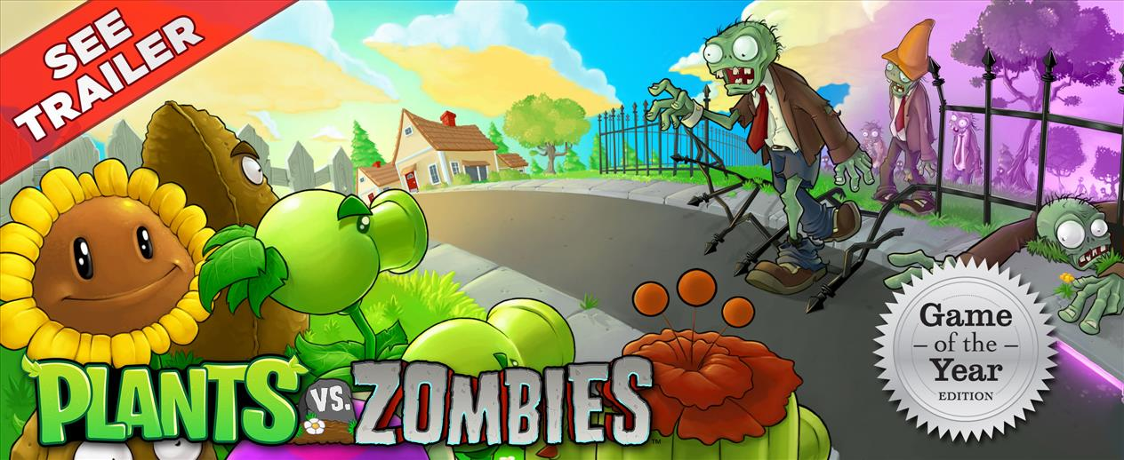 Plants vs. Zombies - Game of the Year - NEW content - NEW bonuses! - image