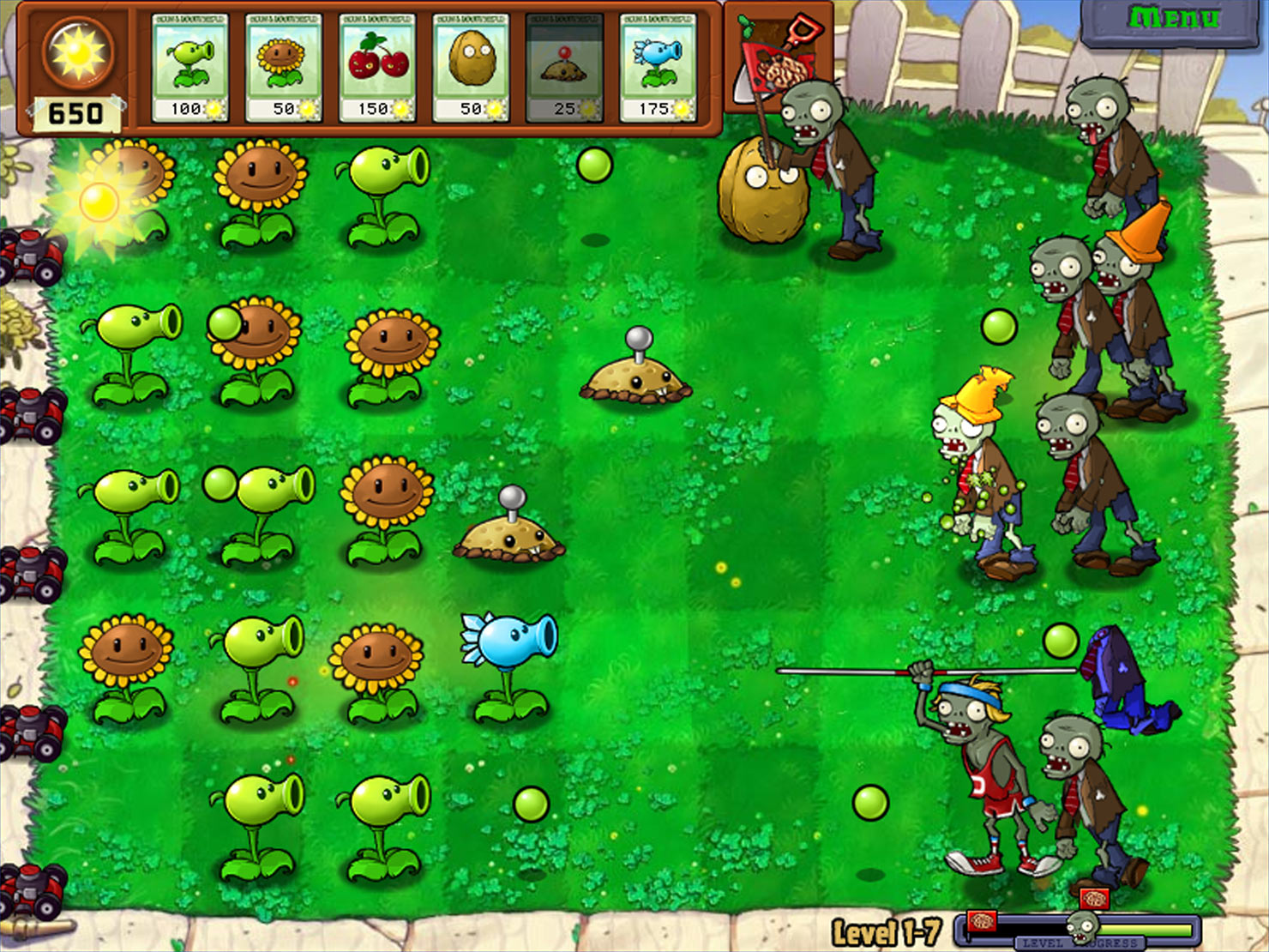 Plants vs. Zombies - Game of the Year screen shot