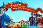 Get ready for adventure with two bestselling match-3 games by Playrix. Enjoy 4 Elements™ and Around the World in 80 Days!